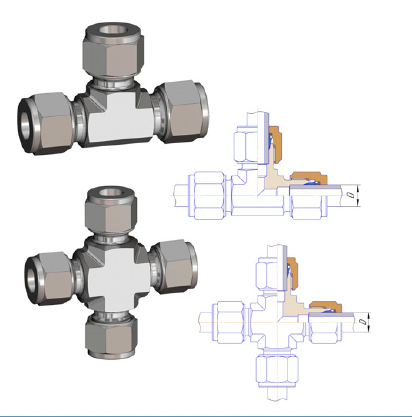 Fittings and Hydraulic Systems Elements