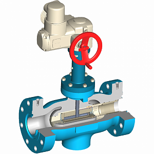 Axial-type Flow Control Valve